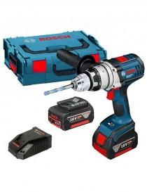 Aparafusadora sem fio Bosch GSR 18 VE-2-LI + oferta 3 baterias